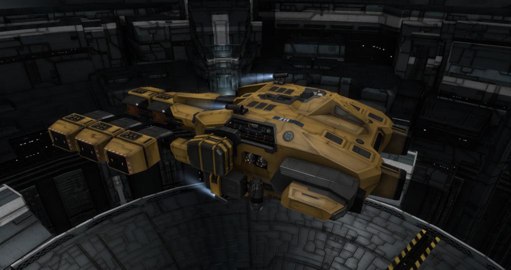 Eve Online ore mining frigate - venture