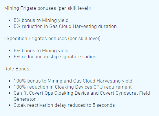 Eve Online Gas harvesting traits