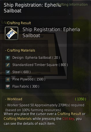 BDO Epharia sailboat license
