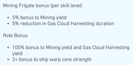 Mining Frigate Eve Online