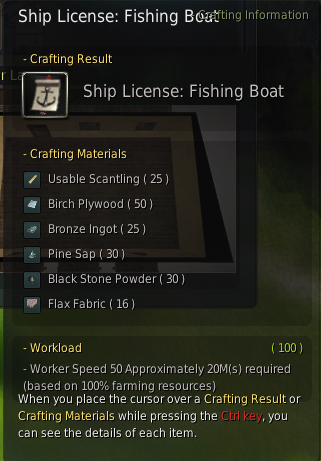 BDO fishing boat license