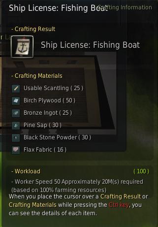 Crafting Fishing Rod Bdo