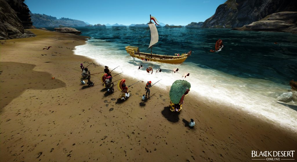 BDO fishing guide blue spot in velia