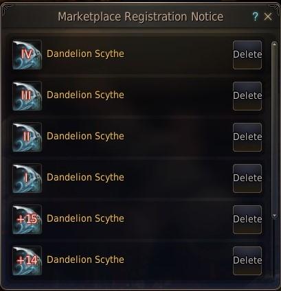 BDO-Notification list